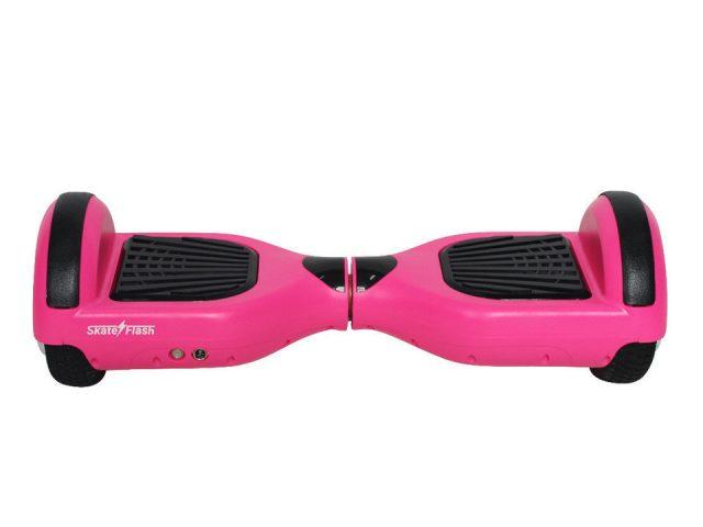 Skateflash K6+pinkb Rosascooter frente