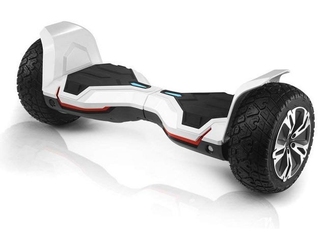 Hoverboard Off-road blanco