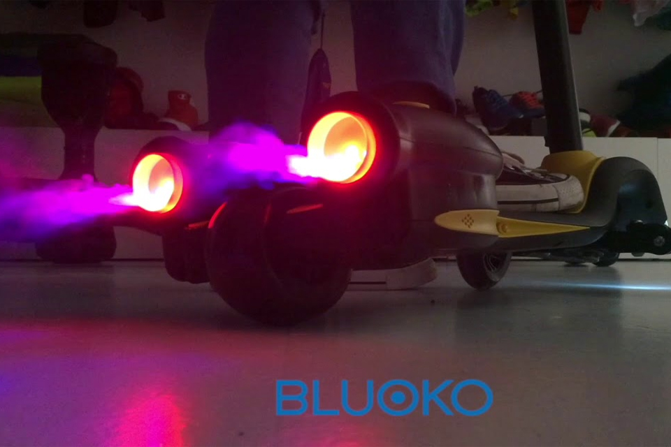 Bluoko Magic Scooter luces