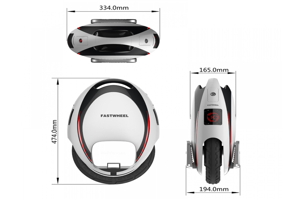 Fastwheel EVA medidas