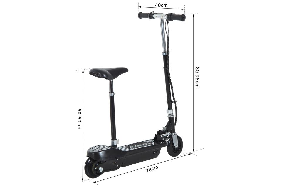 Homcom Scooter medidas