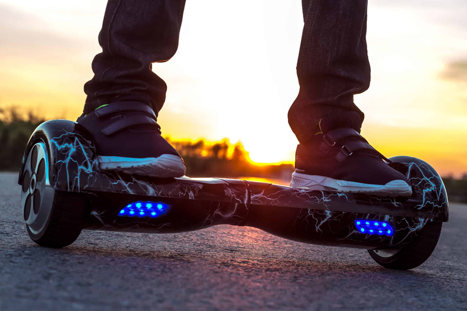 hoverboard con luces