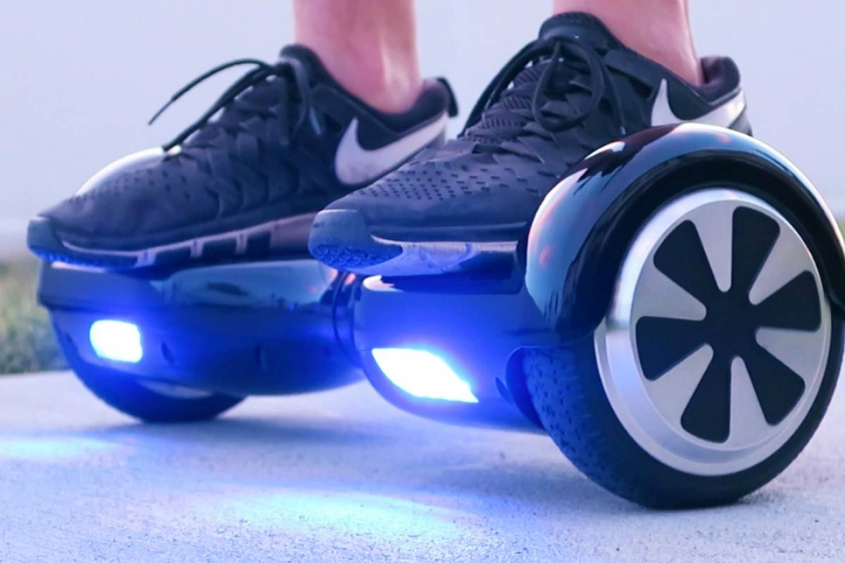hoverboard led