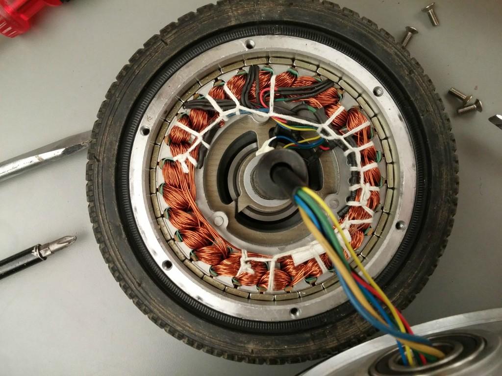 motor de patinete electrico